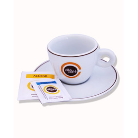 Conjunto Com 6 Xícaras De Cappuccino Villa Café