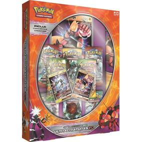 Pokemon Tcg - Box Ultracriaturas Gx Com Playmats (game Tech)