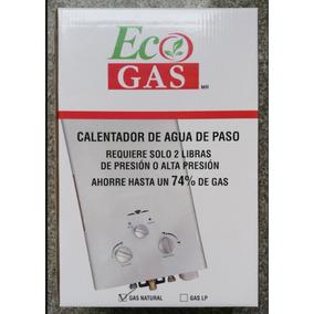 Boiler O Calentador De Paso Gas Natural 6lts Rápido Cdmx Df