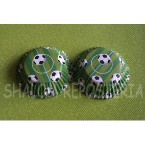 * Capacillos Cancha Futbol Soccer Kekitos Cupcake Fondant