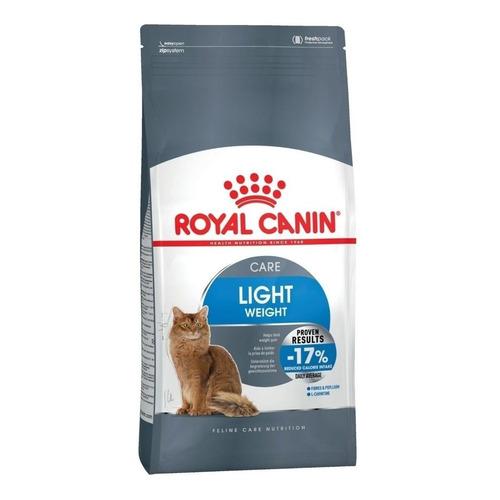 Ração Royal Canin Light Feline Care Nutrition gato adulto mix 400g