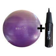 Pelota Esferodinamia De 85 Cm + Inflador Fit Gym Ball Pilates Yoga
