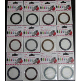120 Rolos Fita Adesiva Metalizada P/ Decorar Unhas Nail Art