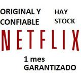 Neftlix / Cuente//4 Pantallas Hd Premium!!