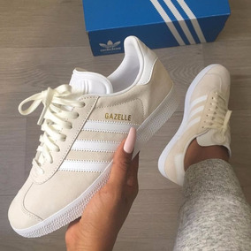 gazelle mujer gris