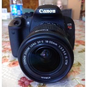 Canon T5i Como Nueva Muy Poco Uso Menos De 500 Fotos