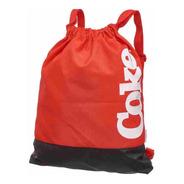 Mochila Saco Esportivo Coca Cola Bold Red