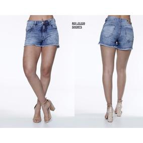 Shorts Biotipo Lavagem Manchada