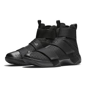 Tênis Nike Lebron Soldier 10 X Com Caixa Black Espacial 11