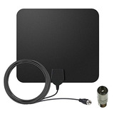 Lujii Digital Indoor Tv Antenna, Amplified Hdtv Antenna 80 M