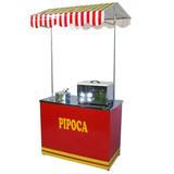 Barraca De Pipoca - Buffet + Brinde Panela Pipoca