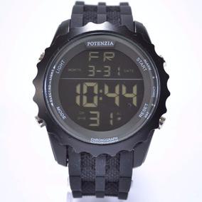 Relógio Esportivo Masculino Anti Shock Militar Preto Barato