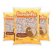 Kit 10 Feijão Comum Bandinha Pacote 1kg Pantera Alimentos