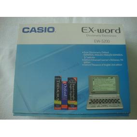 Diccionario Electronico Casio Ex - Word Ew-s200 - Traductor