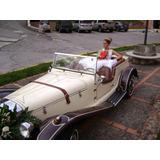 Automóvil Antiguo Para Bodas Y Eventos Especiales