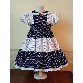 Vestido De Estilo Nena Importado 5-6 Años Biscotti Usa