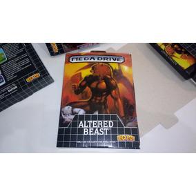 Sega Mega Drive: Caixa Papelao Altered Beast ( By R W S Box)