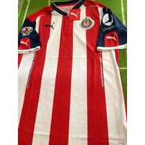 Jersey De Chivas 2017 Versión Jugador