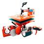 Maquina De Estampar 8x1 - Prensa 8x1 -oferta Instantânea