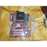 Placa Msi K8mm-v (ms-7142 V1.0) + Procesador Amd Sempron