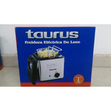 Freidora Eléctrica Marca Taurus De Luxe Capacidad De 1 Litro