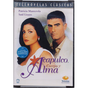 Acapulco Cuerpo Y Alma Telenovela Mexico Dvd