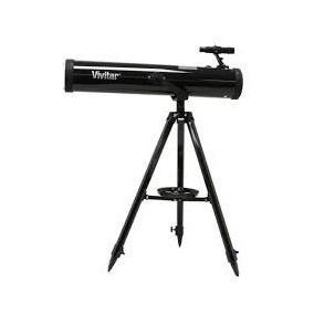 Telescópio Vivitar Vivtel76700 Lente 76mm 525x Óticas Barlow