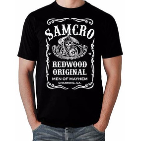 Camiseta Samcro Sons Of Anarchy Jack Daniels Geek Soa G238