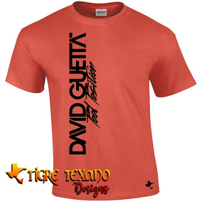 Playera Djs David Guetta Mod. 04 By Tigre Texano Designs