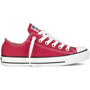 Converse All Star Chuck Taylor Choclo Rojo Tallas Chicas