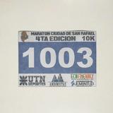 Números Dorsales Tyvek Carreras Maratones X900