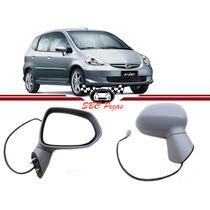 Retrovisor Honda Fit 2003 2004 2005 2006 2007 2008 Direito
