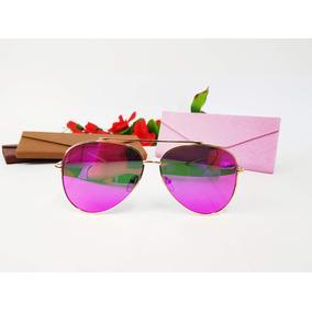 3358c97a14105 Oculos Aviador Espelhado Rosa De Sol - Óculos De Sol no Mercado ...