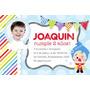 Kit Imprimible Candy Bar Golosinas Payaso Plim Plim