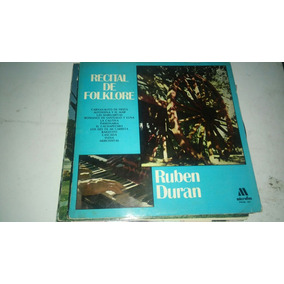 Ruben Duran - Recital De Folklore - Vinilo
