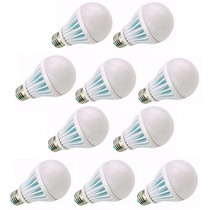 Kit 20 Lampada Led 15w Bulbo Soquete E27 Bivolt Casa Comerci
