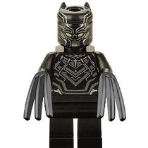 Civil War Genial Figura De Pantera Negra Compatible Con Lego