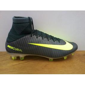 Zapatos Nike Mercurial Veloce 3 Df Fg Gris / Verde Caballero