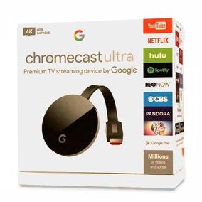 Google Chromecast 4k Ultra 2018 Hdmi 1080p Novo Lacrado