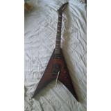 Guitarra Jackson King V Con Floyd Rose (para Restaurar)