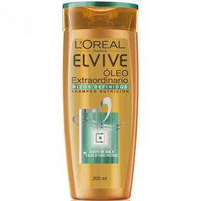Shampoo Elvive Oleo Extraordinario Rizos Definidos X200ml
