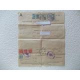 2859- Acta Nacimiento 1950 España/ Madrid Estamp.varias