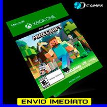 Minecraft - Xbox One - Código 25 Digitos Oficial