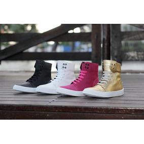 Tenis Botinha Sneaker K3 Fitness Style Em Couro Promoção