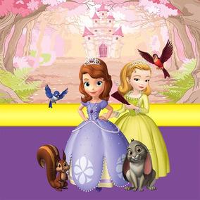 Papel De Parede Para Quarto Infantil Princesa Sofia 0022