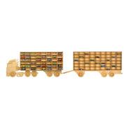 Exhibidor Coleccionador Trailer + Remolque Hotwheels 104
