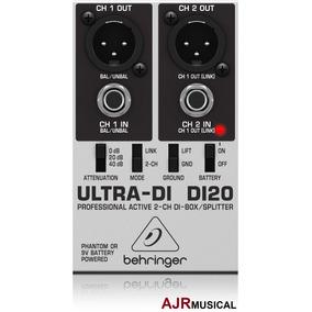 Direct Box Di20 Ativo Behringer Ultra Di-20 / Di 20