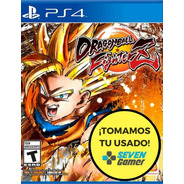 Dragon Ball Fighter Z Ps4 Fisico Sellado Nuevo Original