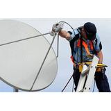 Antena Via Satélite Reapontamento E Configuração