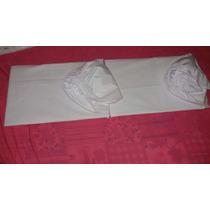 Lençol De Baixo Para Mini Berço Canaã Moisés 200fios Branco